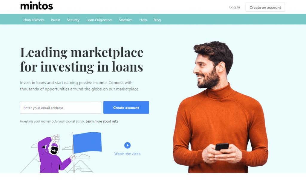 Register at P2P Investment Platform Mintos