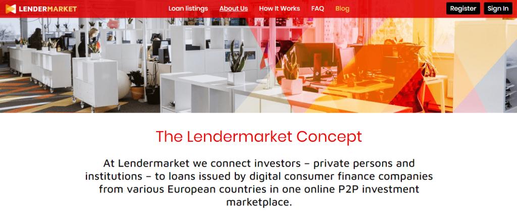 P2P Platform Lendermarket